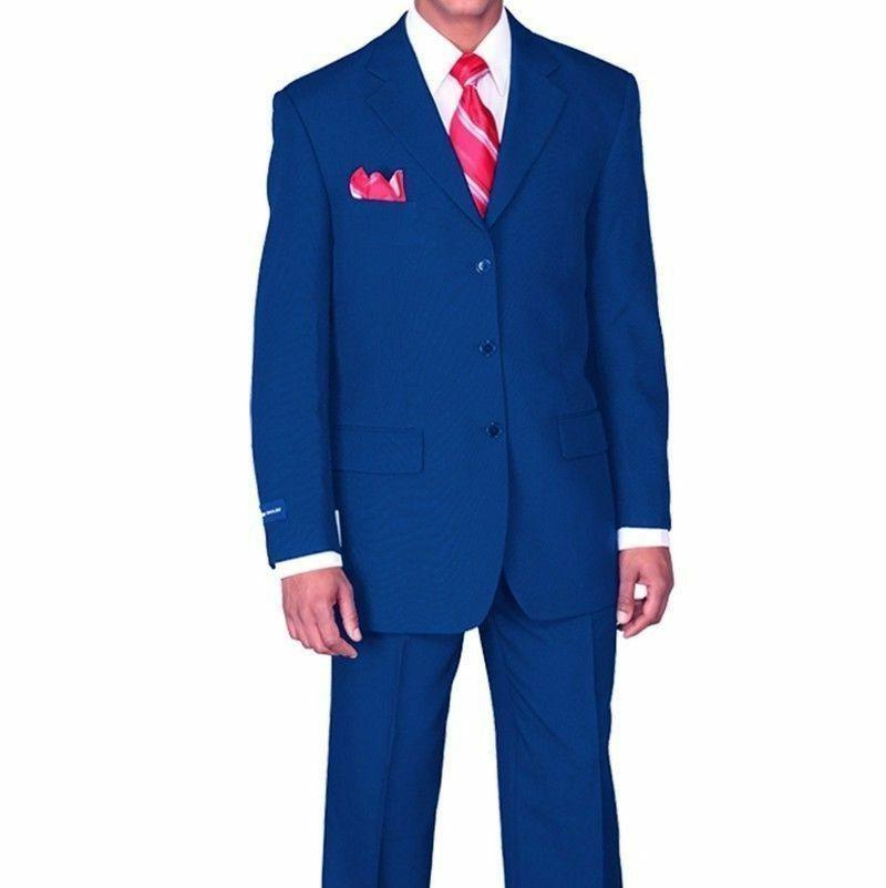 New Men's Suit Single Breasted 3 14 Size 38R~60L