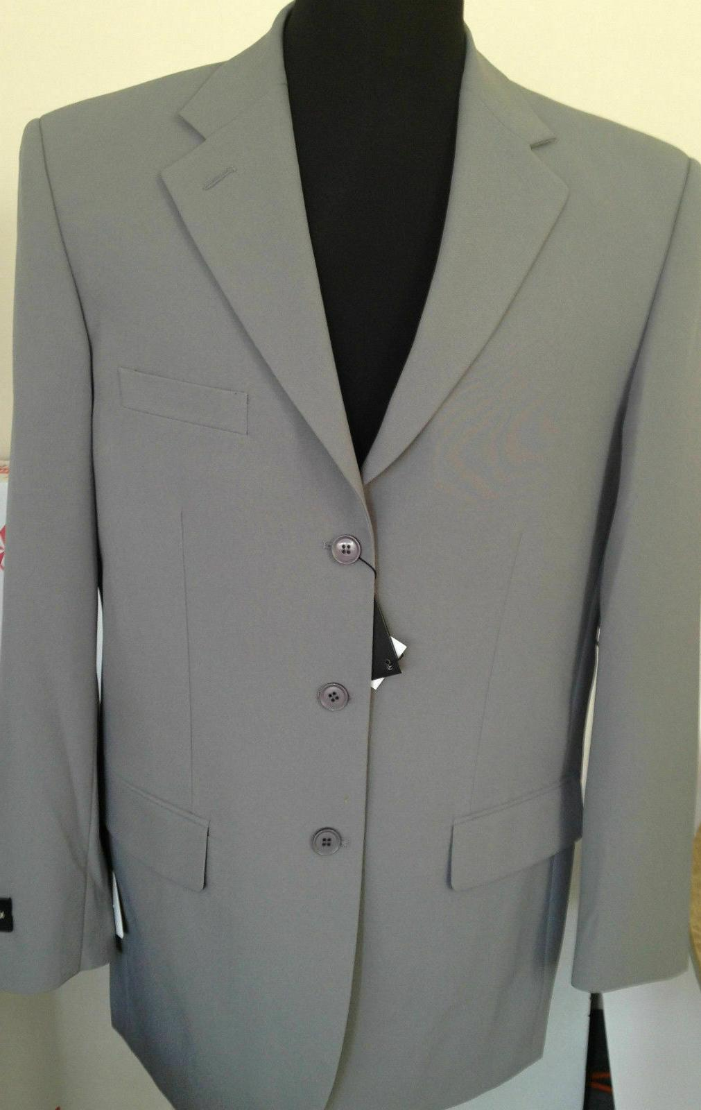 New Men's Suit Single Breasted 14 Colors 38R~60L