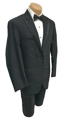 New Black Klein with Flat Front Pants Regular