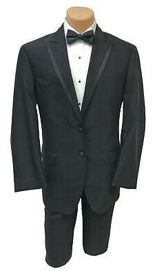new men s black bently tuxedo