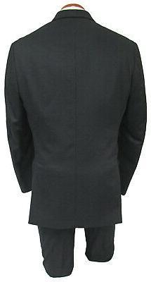 New Klein Suit Grosgrain Peak Lapels Regular