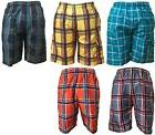 New Men's Cargo Bathing Suit Striped Boardshorts Swim Shorts