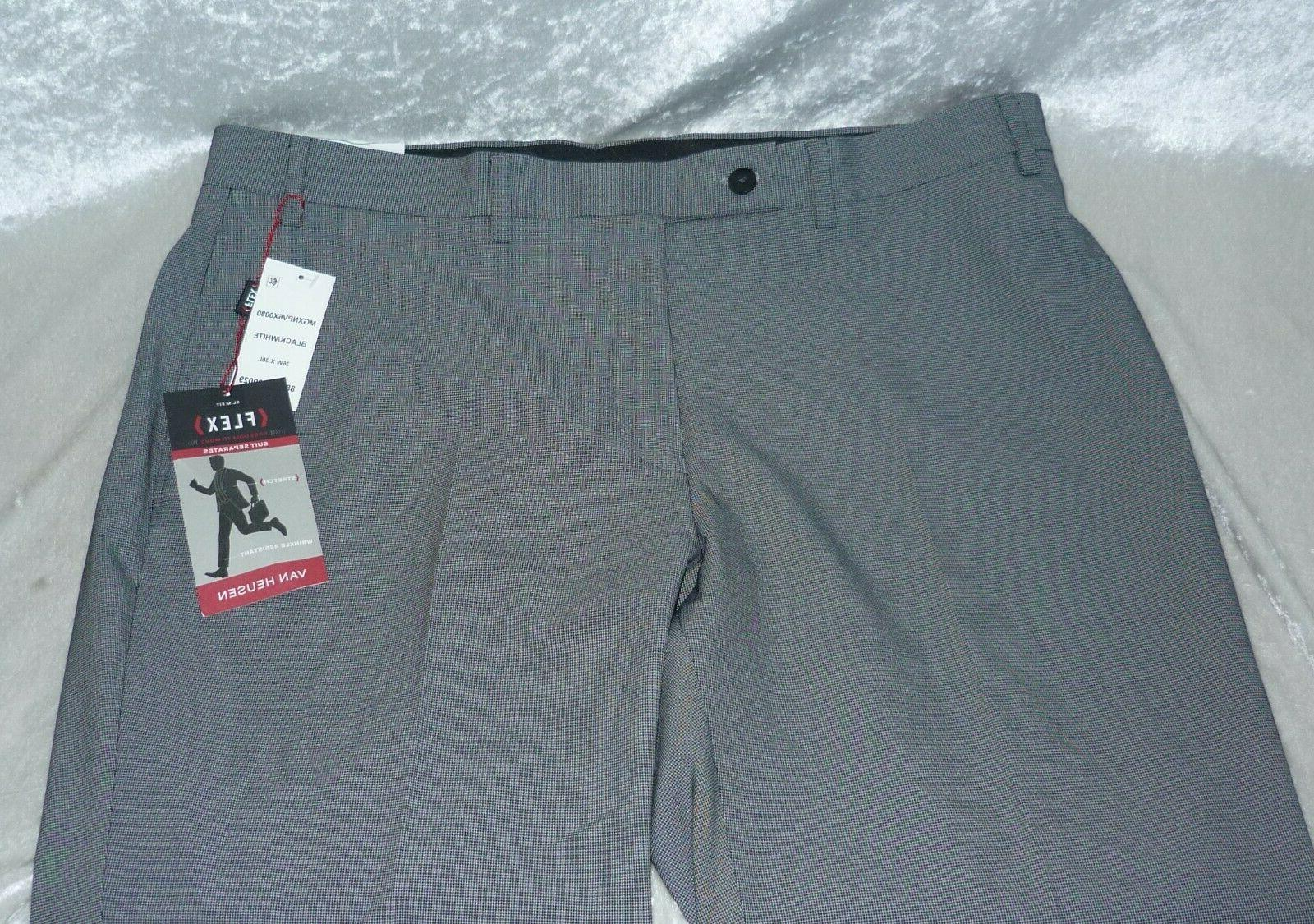 NEW Men's Van Flex Slim-Fit Megan size 34, 38,