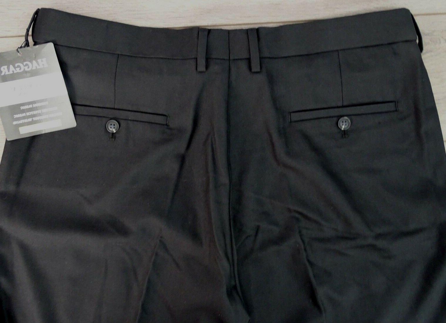 New! Haggar Men's Premium Stretch Separate Classic 36 x