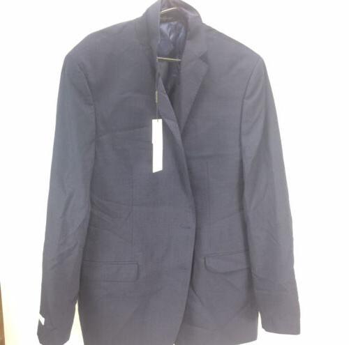 NEW Men's Slim-Fit Navy Jacket