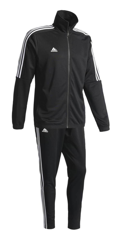 New men's Track Suit black white jacket pant bk4087