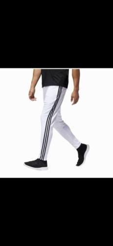 New Adidas Men's Tiro Stripe White/Black Clima Cool Material