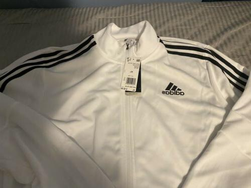 New Adidas Track Suit Set Stripe Material
