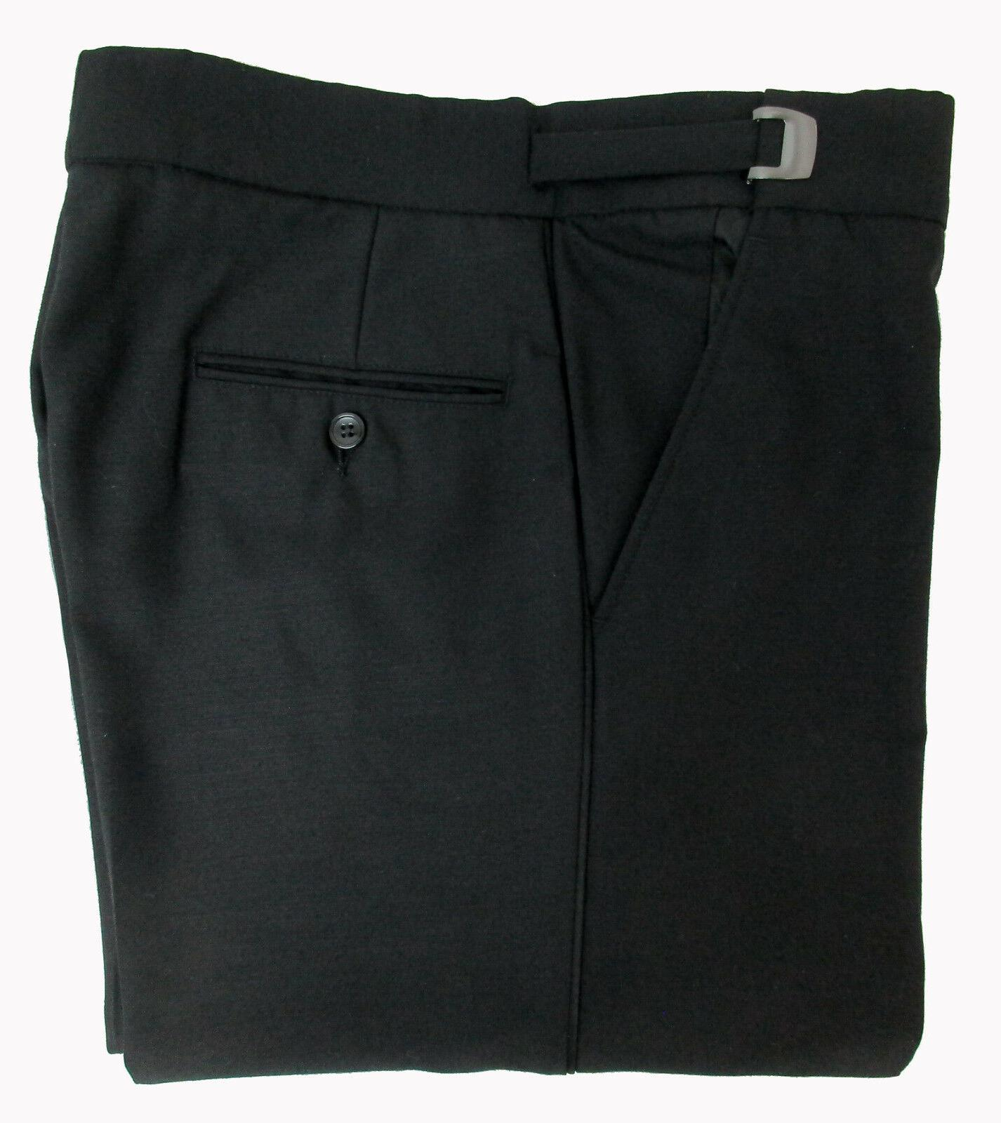 New Mens Calvin Klein Flat Front Pants Super 100s