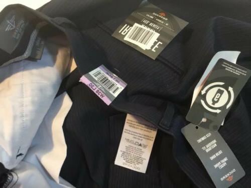NEW Mens Pants X 30 Navy Blue Pin Stripe