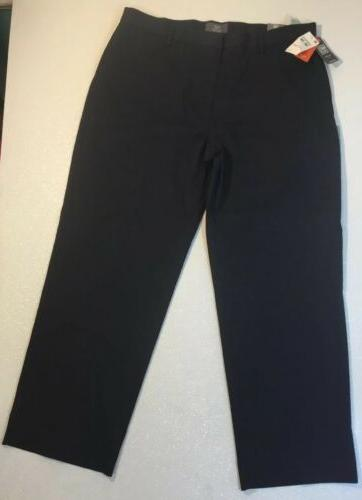 Pants Navy Pin Stripe Straight