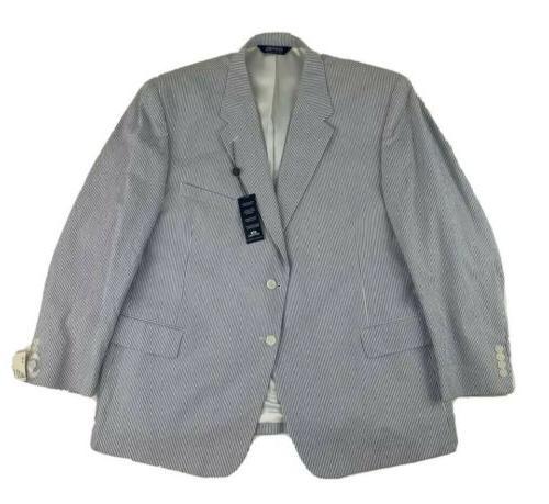 new mens seersucker suit jacket sport coat