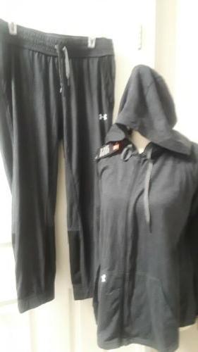 new nwt womens sweat suit sz l