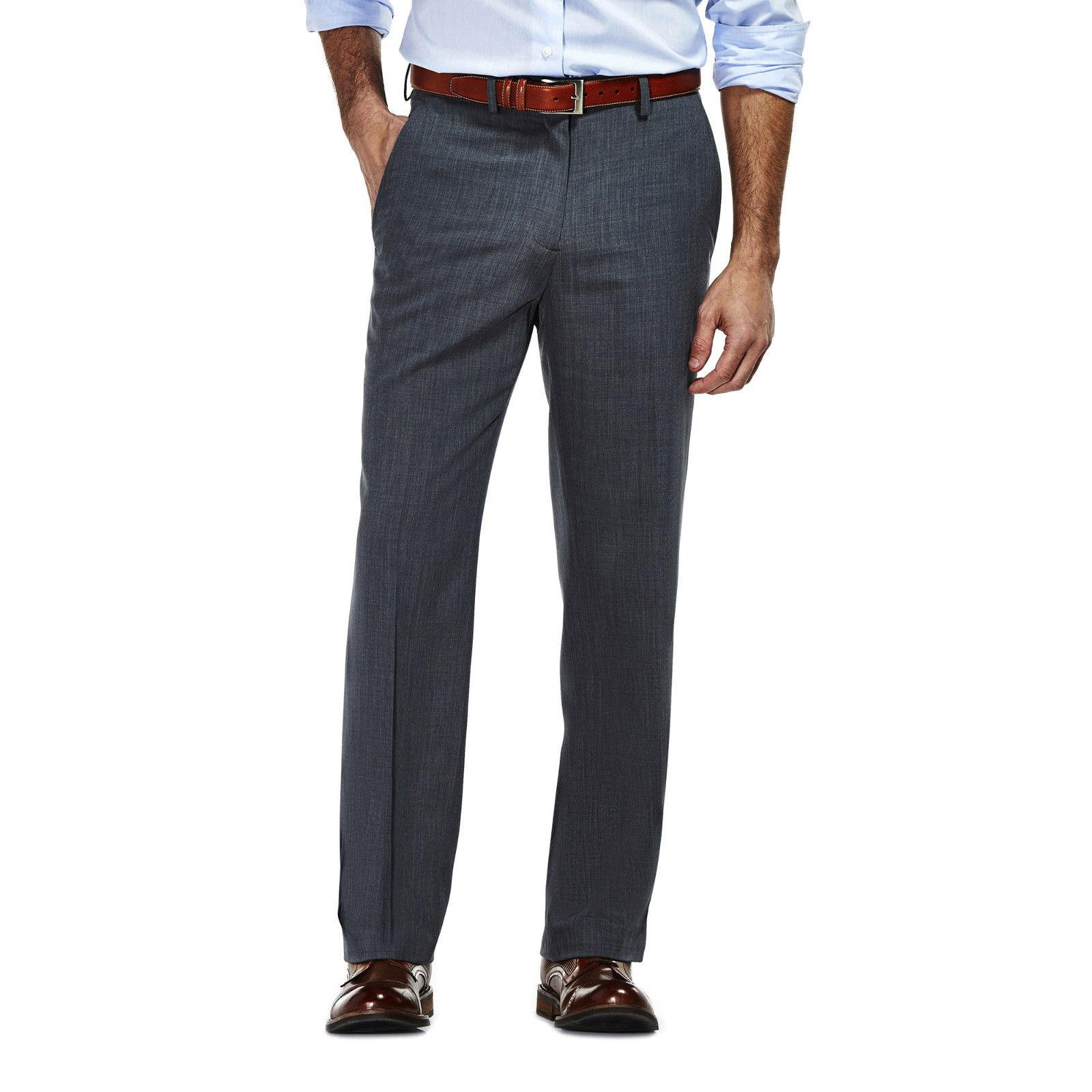 NEW Haggar Travel Suit Pants Graphit Tailored $100