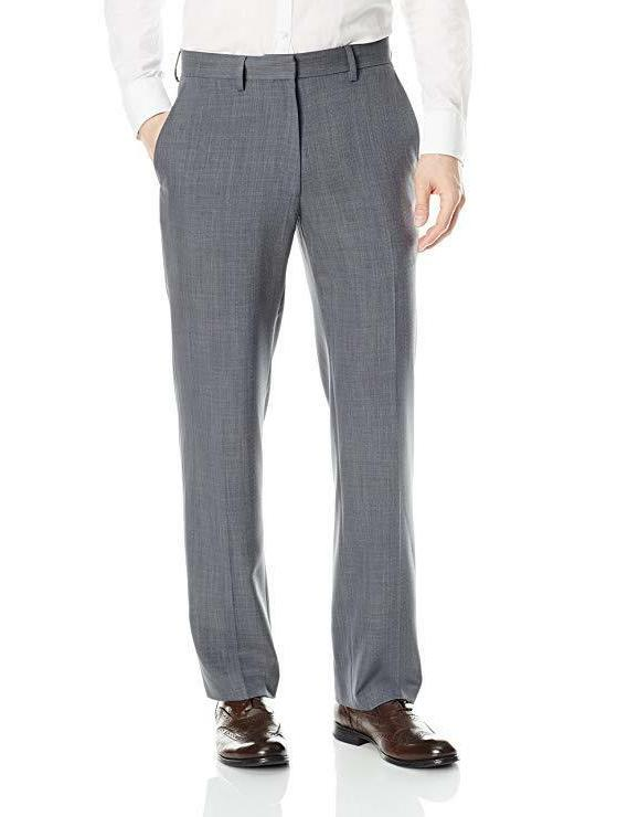 NEW Sz 32x32 Mens Haggar Travel Performance Suit Pants Graph