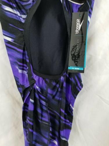New Womens Suit Racerback Fractal Point Race Sz +