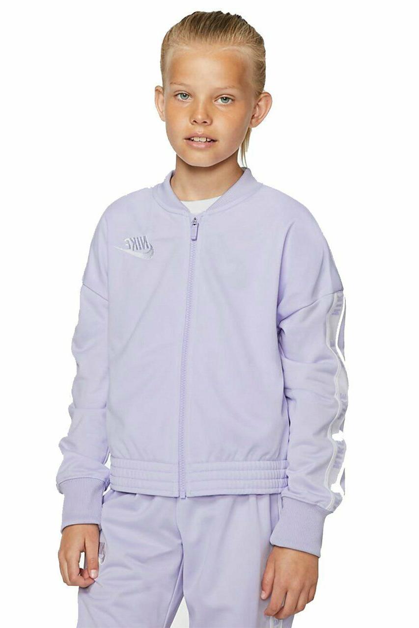 NWOT Big Youth Suit Jacket, Purple w/ White Logo- XL