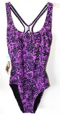 NWOT WOMENS SZ 10 SPEEDO ONE PIECE ULTRABACK SWIMSUIT BATHIN