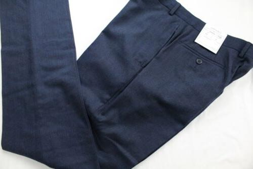 NWT Blue Extreme Fit Dual Side Wool Suit 35