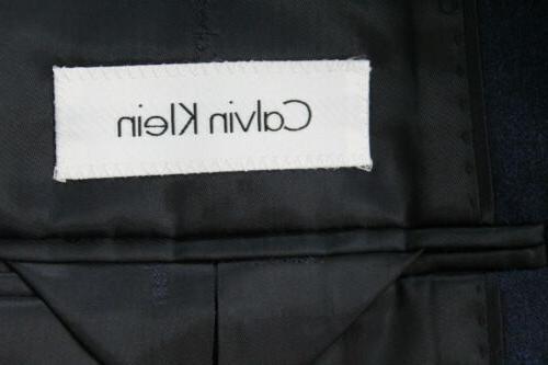 NWT 42S Blue Dual Side Wool 35
