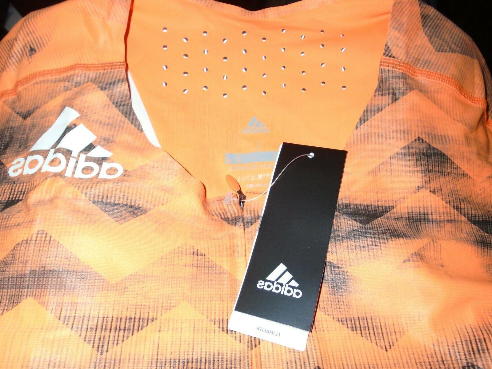 NWT Adidas SUIT Track Field Orange