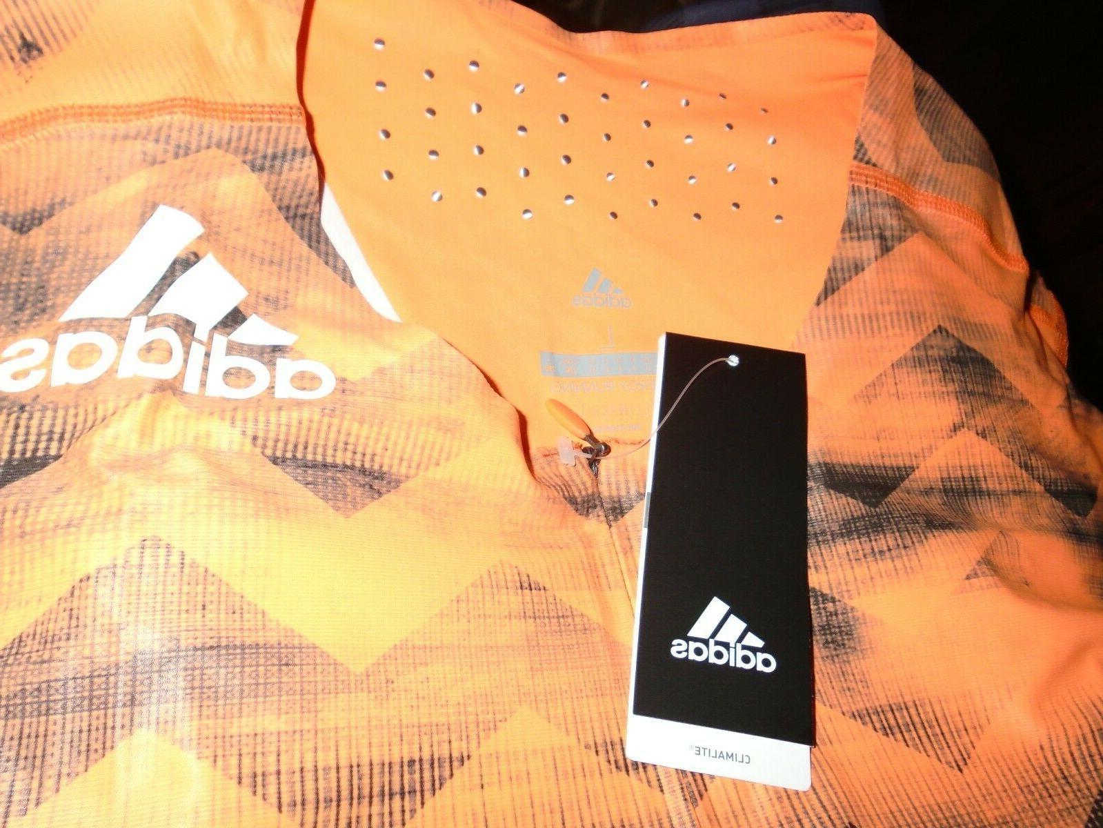NWT Adidas AZP SL SUIT Men's Sz Track and Orange CD3147