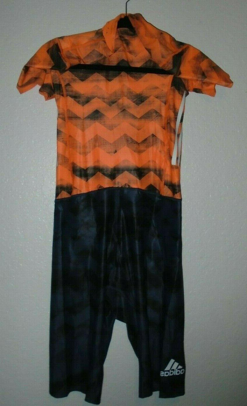 NWT Adidas SL SUIT Track Orange CD3147
