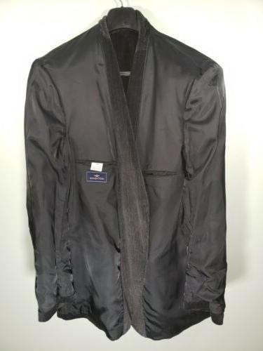 Dockers Black 2 Button Size 48L Blazer/Sport Coat/Suit Jacket