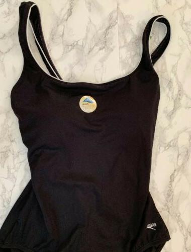 NWT Piping Swimsuit Moderate Bathing Suit 16