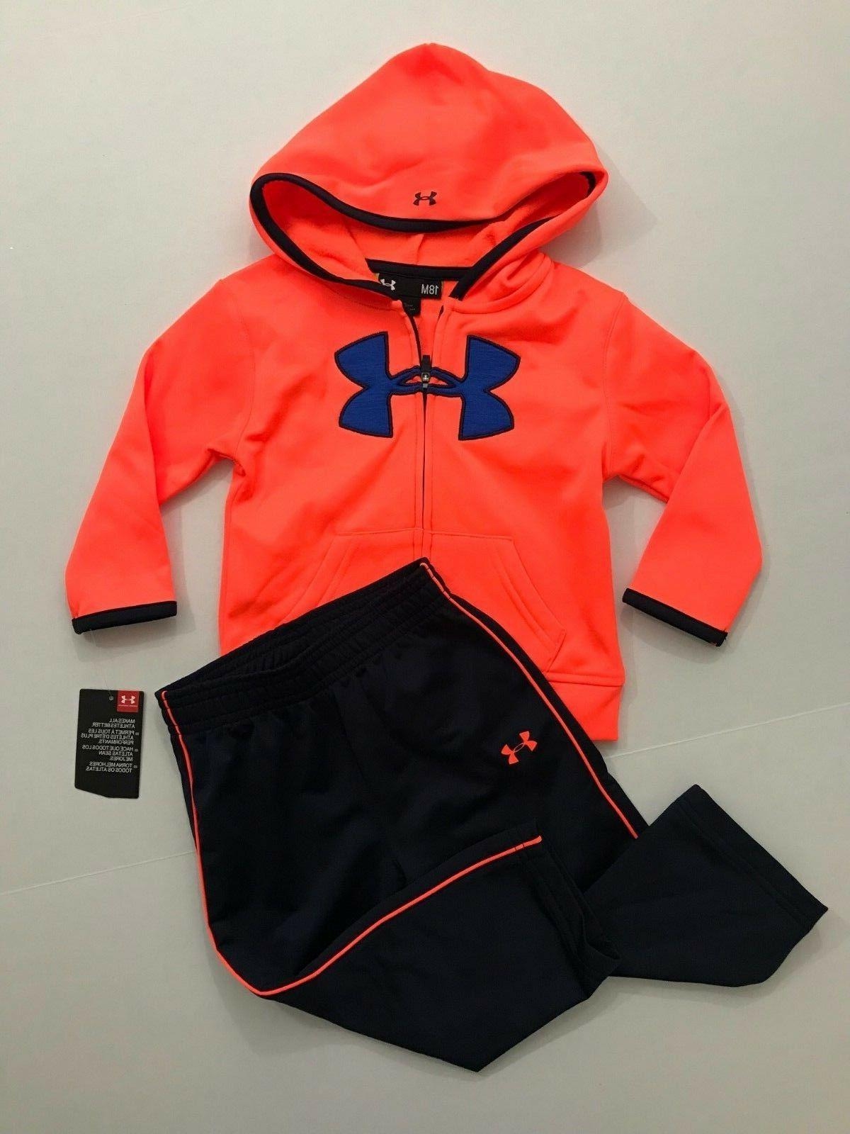 Under Armour NWT Infant Toddler Boys 18 24 Month 2T 3T Track
