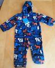 NWT Columbia Fireside Cuddle Fleece BUNTING Suit NAVY CRITTE