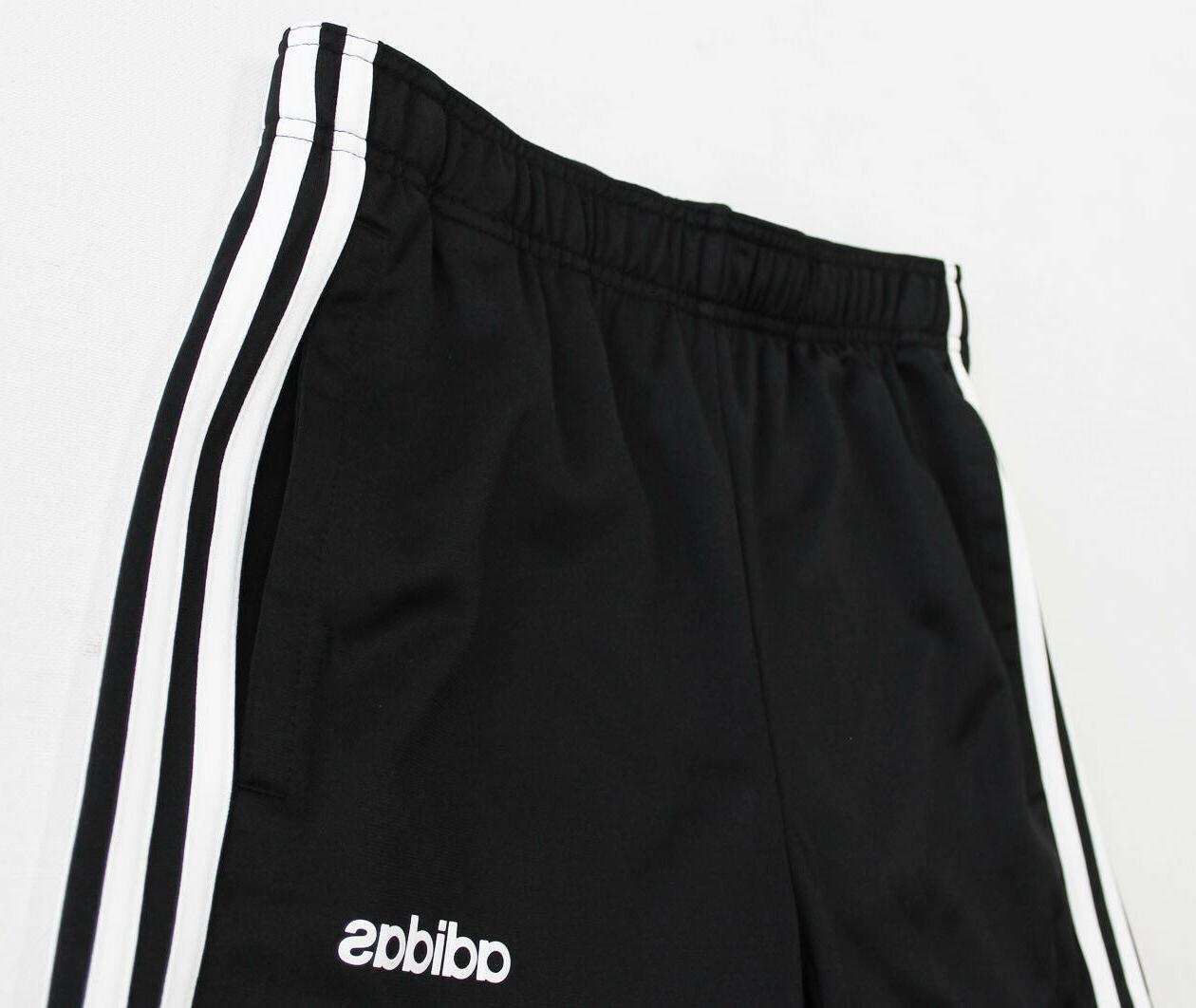 NWT ADIDAS Men's Black Cuffed Warm-Up Suit Set Pants Joggers