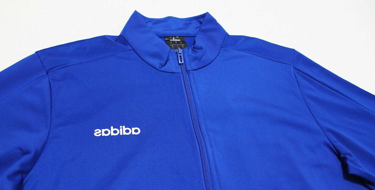NWT Men's Blue-Black Warm-Up Suit Set Jogger