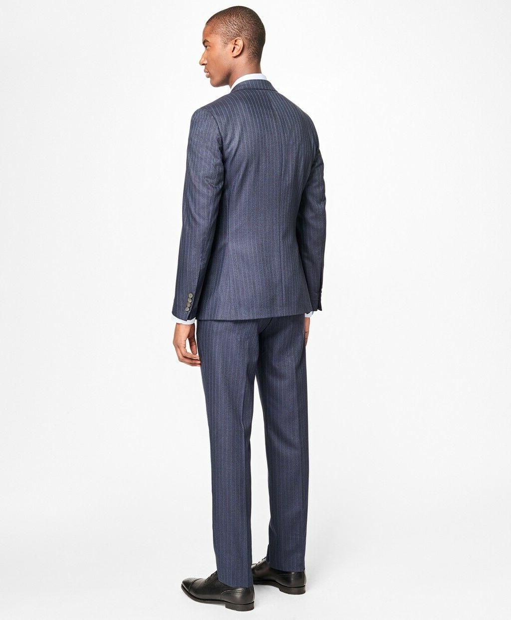 NWT Brothers Milano Fit Textured $1198