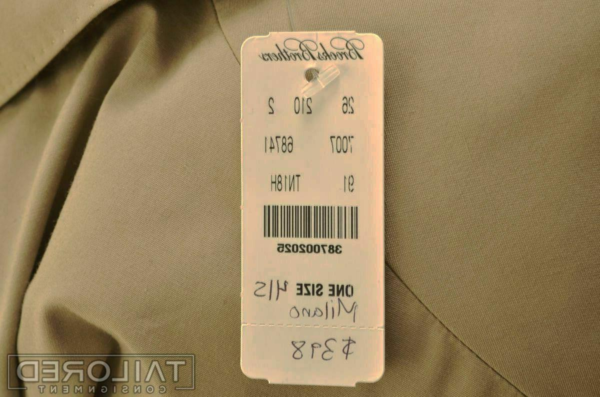 NWT - BROOKS Milano Beige Cotton -