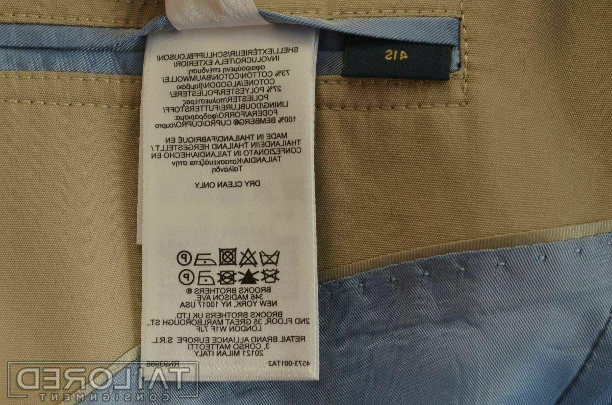 NWT - Milano Beige Jacket Pants SUIT -