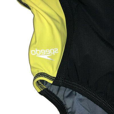 Speedo One Swim Suit Sz Yellow