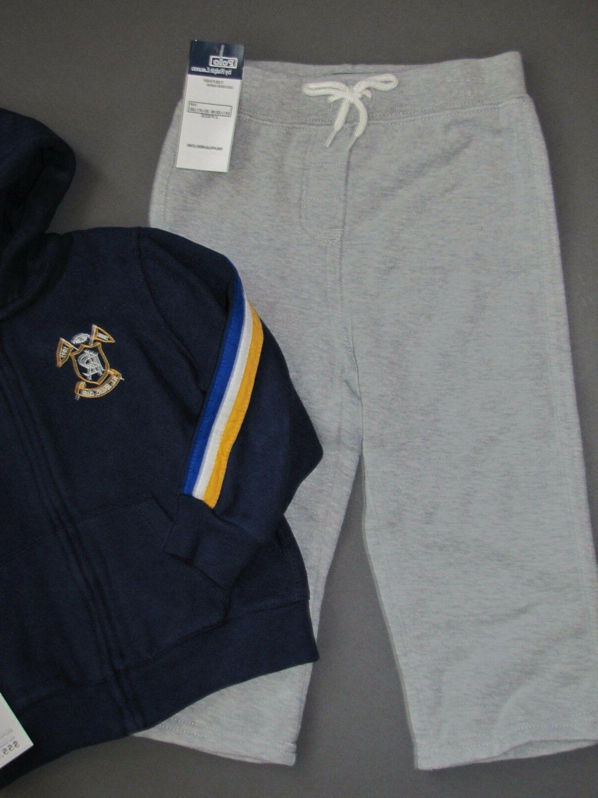 Ralph Lauren Polo Pony Track Suit outfit Baby Size 18 Genuine NEW