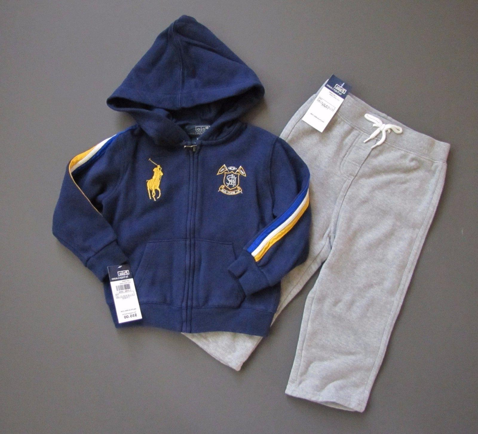 polo big pony track suit outfit baby