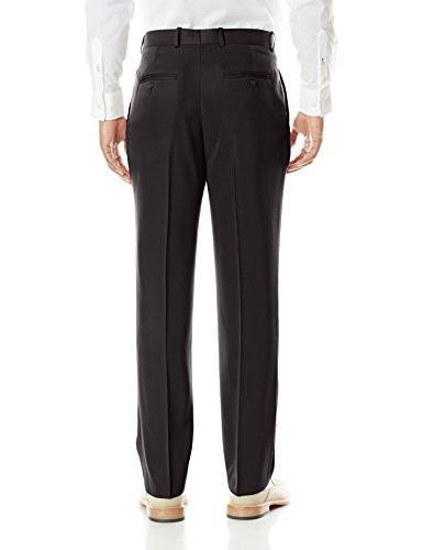 Perry Ellis Men's Solid Pant, Black,