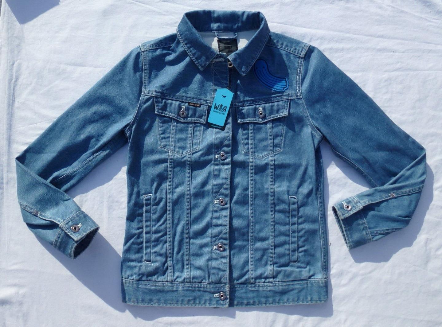 G-Star Raw For Thr Ocean Drop 1 Slim Tailor 3D Denim Jacket