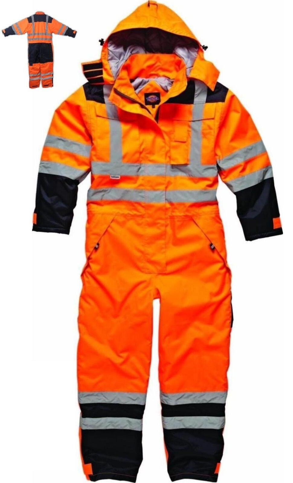 Dickies Recovery Coverall Boiler Suit Overall Auto Repair Ga