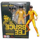 S.H.Figuarts Bruce Lee Yellow Track Suit Action Figure Toy D