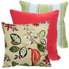 Set of 2 Throw Pillows Indoor/Outdoor Couch Furniture Cushio