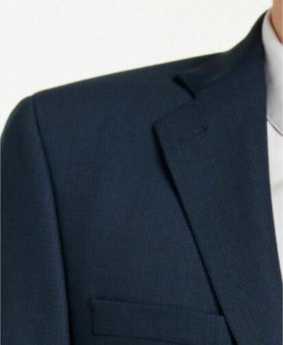 Calvin Klein Stretch Blue Charcoal Jacket 36R