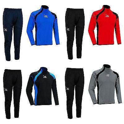 slim fit training suit set top pants