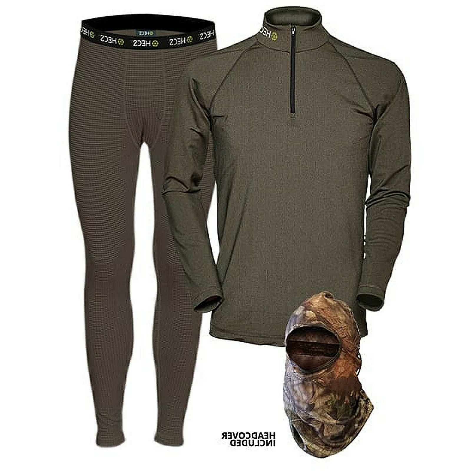 suit base layer hunting suit 3 piece