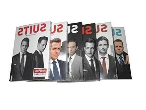 suits complete series seasons dvd