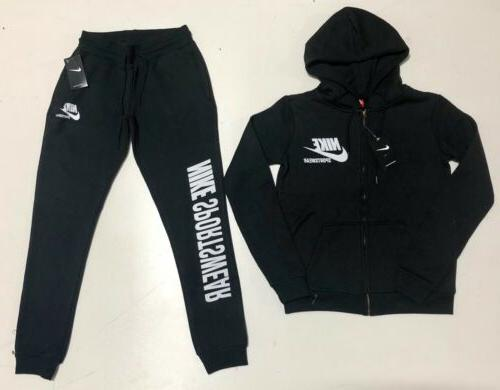 Nike Suit Top & Bottom Complete Set Full Zip New