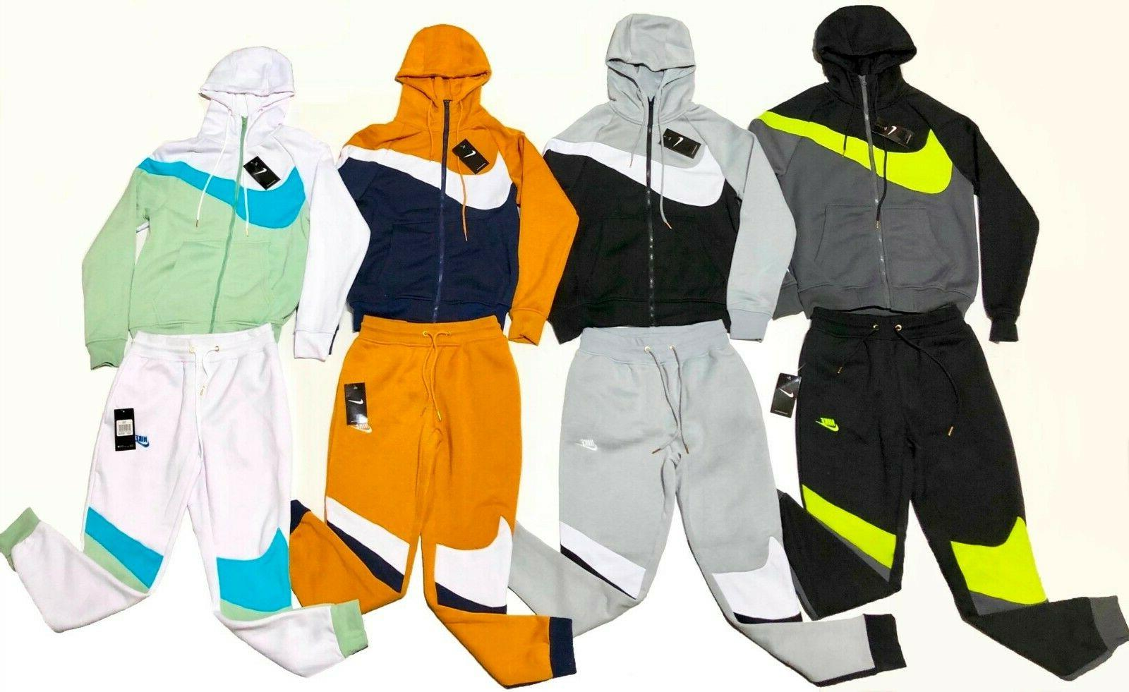 sweat suit men s swoosh complete set